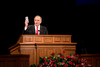 Elder Neil L Anderson speaks to BYU-Idaho students at Devotional.