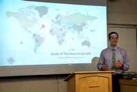 University Relations Personal Development: Brandon shares his interest in Book of Mormon Geography.