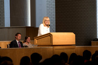 The College of Education and Human Development at BYU-Idaho invites the Former Chair of the U.S. Commission on International Religious Freedom, Katrina Lantos Swett, speaks to the students of BYU-Idah