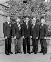 President Bednar and his staff of vice presidents