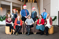 This BYU-Idaho Support Center group is ready for Christmas!