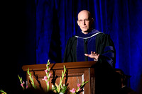 Convocation for College of Language and Letters.  President Henry J Eyring.