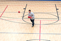 The I-Center courts provide plenty of activities for students at I-Night. 2018