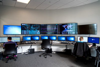 Cyber Security room at the STC building.