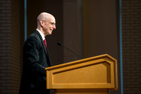 "BYU-Idaho All Employee Conference theme: ""Reaching the One: Loving, Serving, and Teaching one Another"". Opening speaker, President Henry J. Eyring."