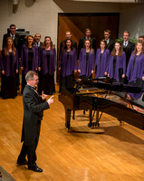 Brigham Young University-Idaho's Collegiate Singers perform in the Department of Music Showcase