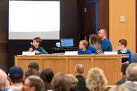 Students from all over Idaho compete in the National Geographic Geography Bee.