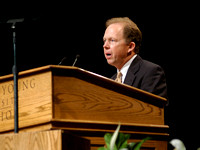 BYU-Idaho President Kim B. Clark Inauguration ceremony. Oct 2005