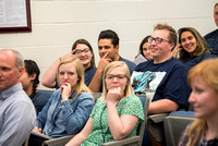BYU-Idaho Employee Students and full-time Employees participating and learning during Evolve Conference. May 2018