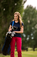 BYU-Idaho student in a golf course playing. Admissions Viewbook. Jun 2018