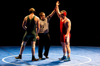 The Mens Competitive Wrestling Chamionship held by Student Activities.