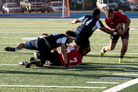 Mens Rugby competing during Spring Semester.