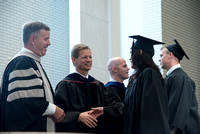 Awarding of Diplomas to graduates at the Home and Family Convocation in the Taylor Chapel.