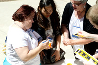 Participants recreate the Spori Building with PlayDo.