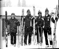 Ricks college Ski Team at Targhee Ski resort 1972