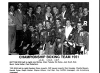 1951 Championship Boxing Team
