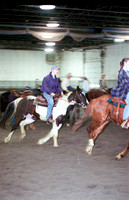 Students learn in a hands on environment about horses.