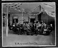The Ricks Academy Advanced Orchestra in 1917