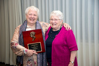 The Eliza R. Snow Society Honors Florence Bowman as she receives the Eliza R. Snow Award.