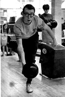 Bowling photo copied from a 1969 Rixida Yearbook.