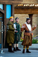 Brigham Young University-Idaho's production of The Shomaker's Holiday performed out in the amphitheatre in front of the McKay Library.