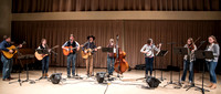 This bluegrass band perform the songs they've been learning all semester in their Bluegrass class.