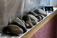 Object lesson by Brett Sampson: Do you pack extra rocks in your pockets? Empty your life of the extra burdens you carry around. Let the Lord lighten your load