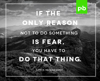 Global Practice Leader of Execution at Franklin Covey and author, inspires students to conquer the fears that have bound them.