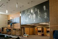 Legacy Hall in the Manwaring Center received some additional art work creating a lasting tribute to the ongoing Sprit of Ricks here at BYU-Idaho.  Two new show cases were added to Legacy Hall to pay t