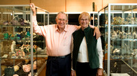 Keith and Mauna Proctor donated an extensive collection of minerals to the BYU-Idaho Geology Museum.