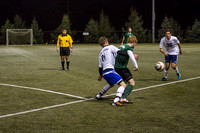 BYU-Idaho students play competitive soccer at the 4-plex on BYU-Idaho campus