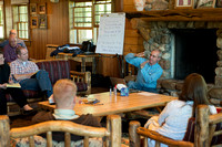 Retreat for College Deans and Department Chairs at the Sky Mountain Lodge.