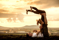 Yoga instructor Brooke Lemmon is bringing acro yoga to BYU-Idaho by practicing with a group of students after her yoga fitness class each week.