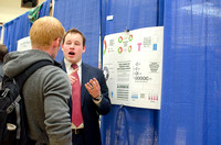 Students plan, research, and develop ideas. They are able to showcase their projects at the conference.