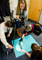 Photo shoot for Professional Ethics poster. Photographer - Katelyn Crompton; Graphic Designers -Jed Rhien, Anastasiia Vedernikova and Kaylie Robinson