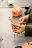 The Life Skills program at Brigham Young University-Idaho hosts the Knitting Workshop. The workshop is intended for anyone with an interest in knitting or crocheting and would like to learn, or gain n