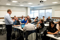 Lee Barney's CIT 360 class in the new Science and Technology Building.