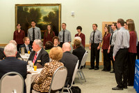 Vocal Union shares musical number during Emeritus Breakfast, November 9, 2013 .