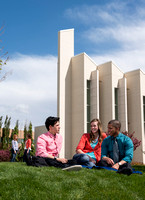 Students at BYU-Idaho.