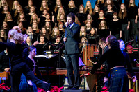 BYU-Idaho students perform in the Christmas Concert featuring Nathan Pacheco
