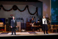 It's a Wonderful Life: A Live Radio Play, comes to life on stage at the Snow Drama Theater at BYU-Idaho.  It was written by Joe Landry and directed by Roger Merrill.