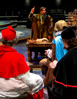 BYU-Idaho theater production about the life of Galileo, directed by Hyrum Conrad.