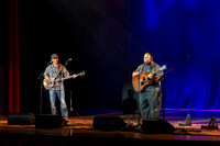 Brigham Young University-Idaho's Center Stage presents the Hawaiian Slack Key Kings. Performers Stephen Inglis, Patrick Landeza, Hear LT Smooth created a warm Hawaiian atmosphere with their music amid