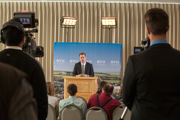 President Gilbert Press Conference