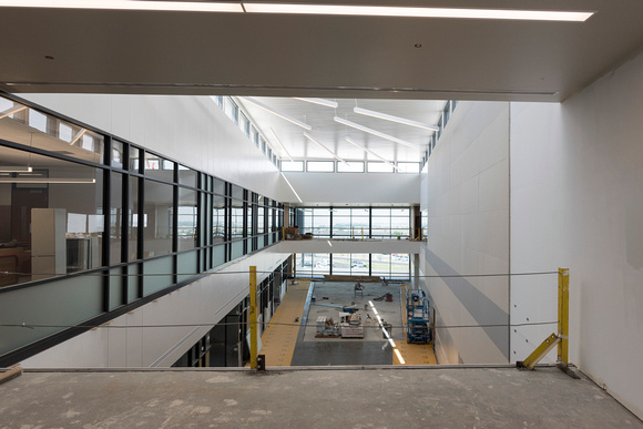 A look inside the new Science and Technology Building that is scheduled to be occupied by the 2016 Fall Semester.