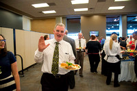 Exemplary Faculty are recognized by their peers at a banquet for the faculty at BYU-Idaho.