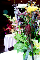 BYU–Idaho students designed bouquets for the Fashion and Floral Design Gala.