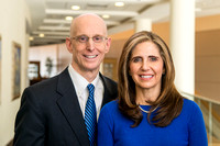 President Henry J Eyring and his wife Kelly for a video for Get Connected.