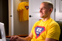 Adam Wickern is the I.T. Man for a video to help recruit Online Learning instructors.