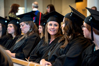 BYU-Idaho graduates at the College of Eduation and Human Development convocation at the Taylor Building.